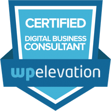 WP Elevation certification badge